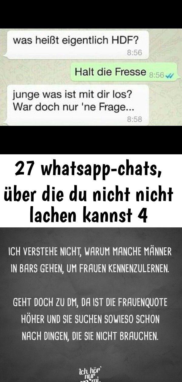 27 Whatsapp Chats über Die Du Nicht Nicht Lachen Kannst