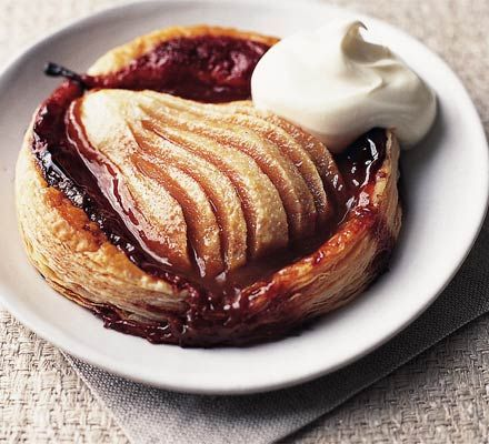 Toffee pear galettes: A deceptively easy dessert that is fabulous for dinner parties.