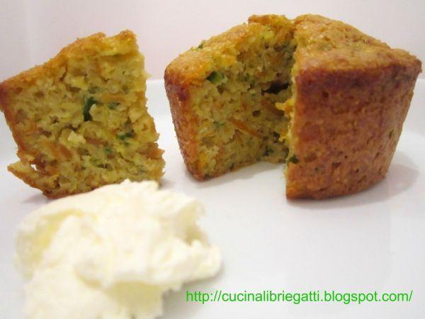 Ricetta Sformatini di miglio carote e zucchine, da Daniela Vietri - Petitchef