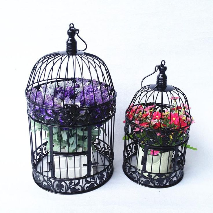 Shabby Chic Antique Style Decorative Bird Cages