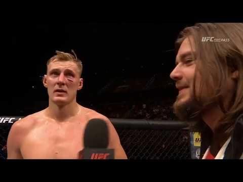 MMA Fight Night Rotterdam: Alexander Volkov & Stefan Struve Octagon Interviews