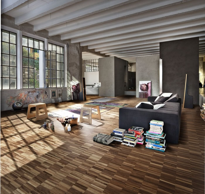 Kahrs Linnea Walnut Gotham Engineered Wood Flooring | available at  Interiors and Textiles in Mountain View - 128 Best FLOORS Kahrs Images On Pinterest