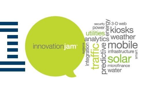 IBM hosts innovation jams for employees.