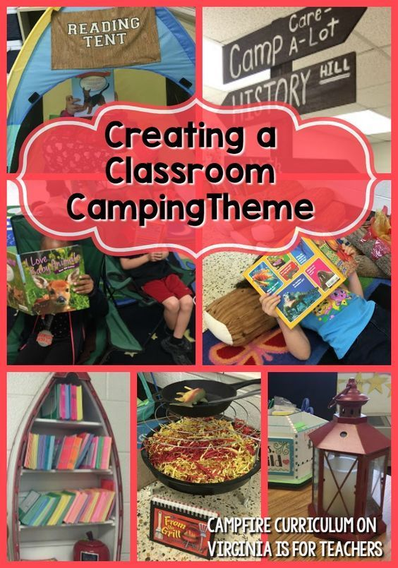 If you're looking for camping classroom theme ideas, look no further! This post is filled with ideas you will LOVE from Campfire Curriculum.