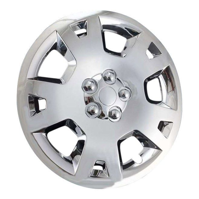 New Custom Aftermarket Hubcaps Wheel Covers 78023 17 Chrome Set