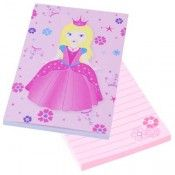 Princess Notepad $3.95 https://www.stagezone.com.au/pink-poppy-products.html?limit=18&p=4  #children #kids #fun #jewellery #accessories #dressup #colourful #costume #party #butterfly #flower