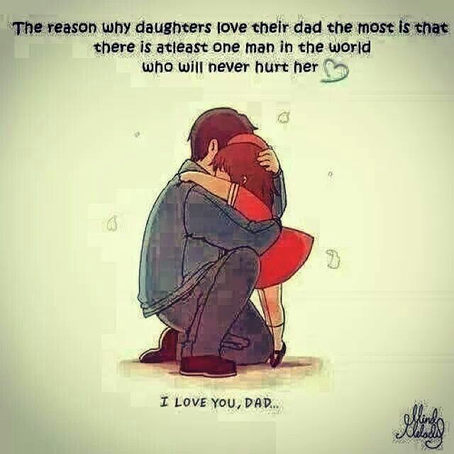 Father Love: I Love U Dad Daddy Quote Fatherhood