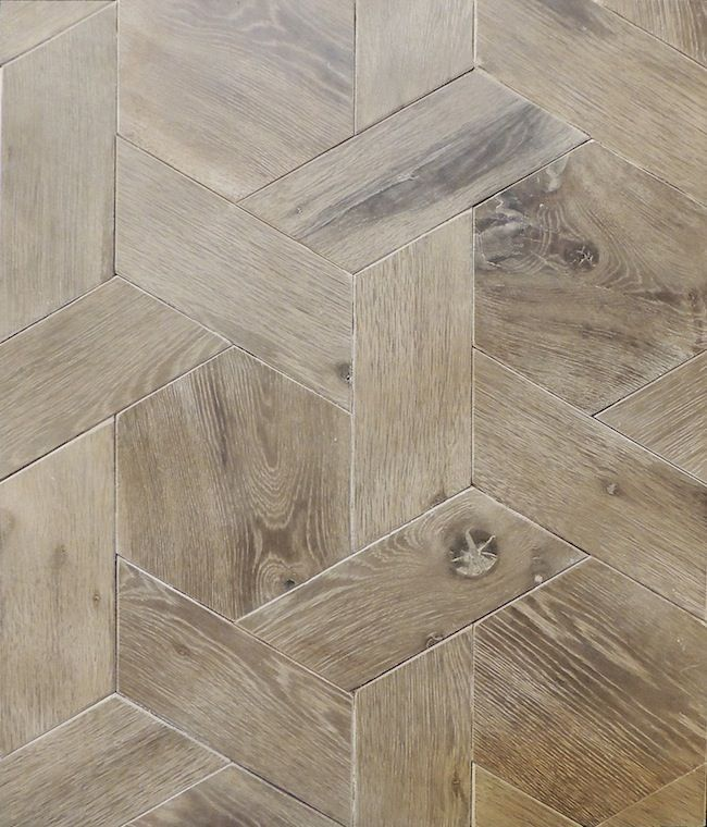 This is amazing. Patterned hard wood like tile!