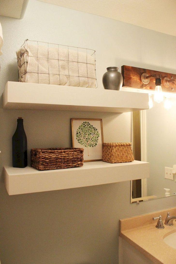 24 Diy Wand Regale Design Ideen Und Organisation In 2020 Badezimmer Wandregal Wandregale Design Regal Design