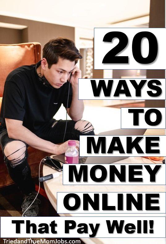 20 wenig bekannte Möglichkeiten, um online Geld zu verdienen, das sich auszahlt   – Make Money Online