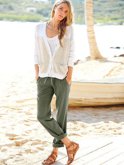 Relaxed Linen Pant