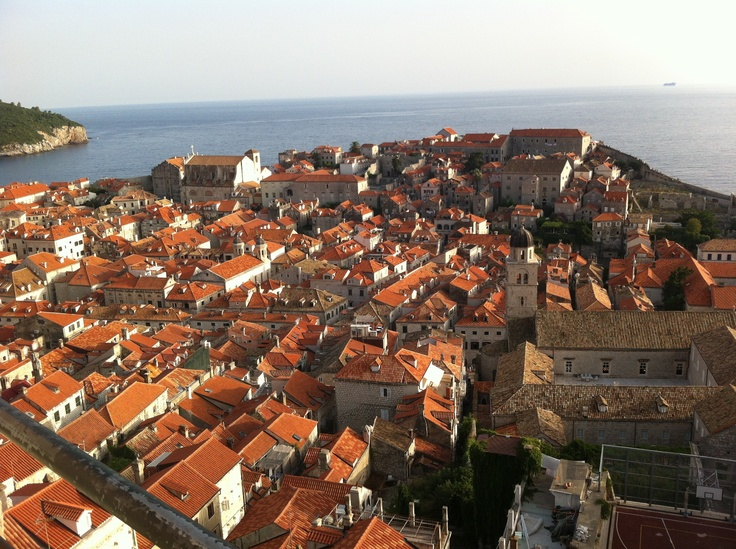 Dubrovnik from top of the wall