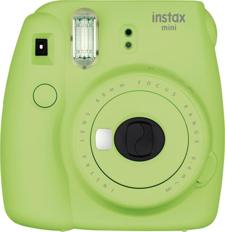 Fujifilm - instax mini 9 Instant Film Camera - Lime Green