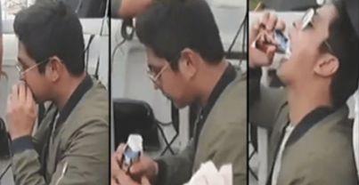 Walang Arte: Coco Martin Pinag-uusapan Ngayon Ng Mga Netizens Dahil Sa Pagkain Ng Ganito Habang Nasa Motorcade