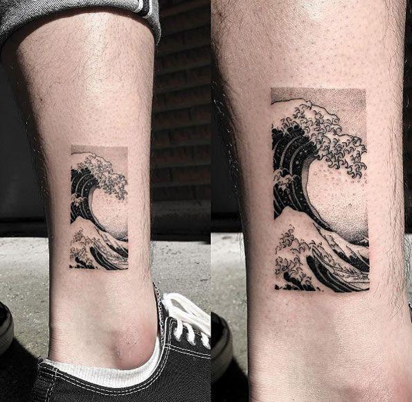 Hokusai wave by OOZY