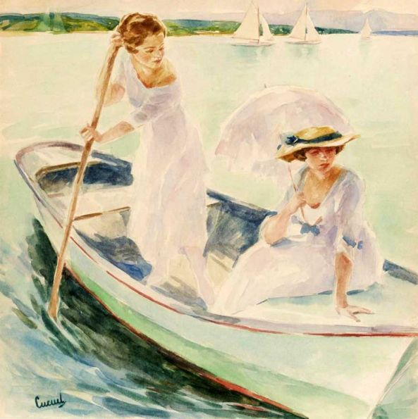 Maher Art Gallery: Edward Cucuel (1875 – 1954
