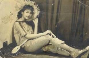 Olivia Rojas Rosal ( adopted daughter of Felisa Rojas Rosal and Atty. Ricardo Ll.Rosal.Biological daughter of Bernardo S.Rojas and Virginia Salcedo Rojas). Taken 1958 when she was 16 years old.