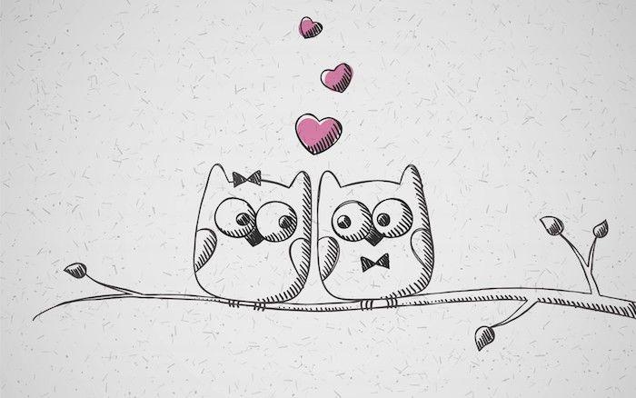 1001 Tutos Et Idees Pour Realiser Un Dessin D Amour Mignon