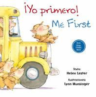 ISBN:9788416648047 ¡Yo primero! = Me first by Lester, Helen... 11/8/2016