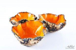Kolorowe miseczki - pomarańczowa ------  Colorful bowl - orange