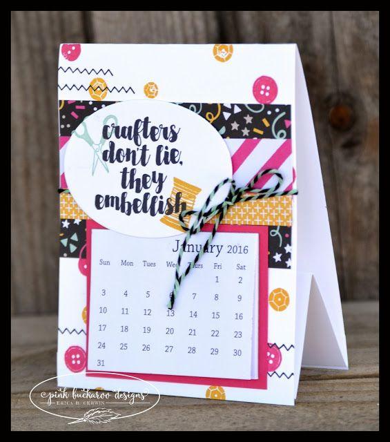 Stampin Up Calendar Ideas : Best images about calendar ideas on pinterest