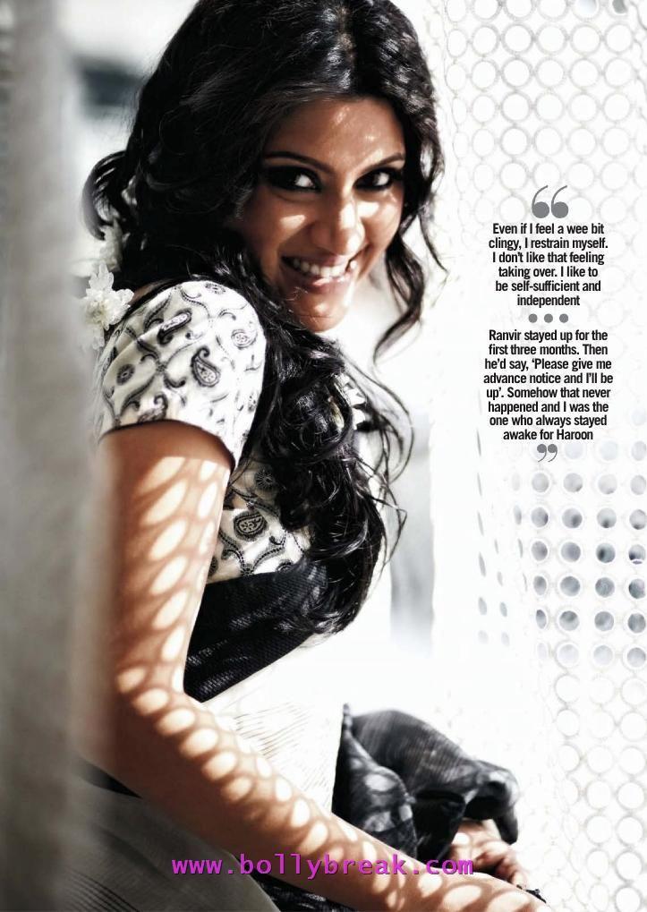 Konkona Sen Sharma Filmfare Scans – May 2012