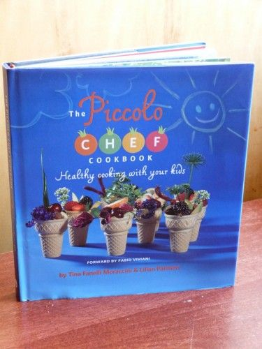 The Piccolo Chef Cookbook, Healthy Cooking with your kids!! what a great way to interact with your kids!