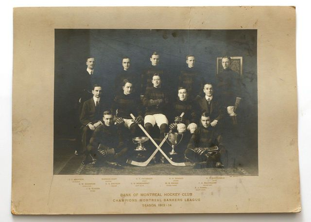 Bank of Montreal Hockey Club - Champions Montreal Bankers League