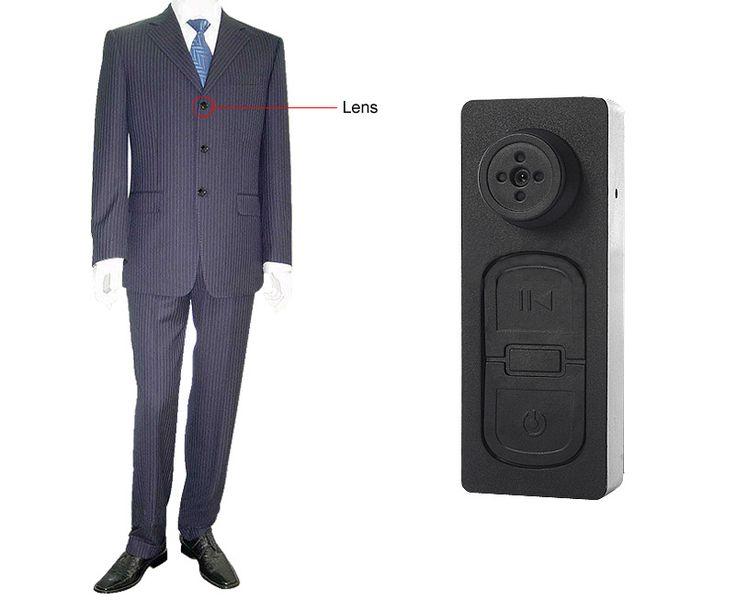 Κρυφή Κάμερα Κουμπί Καταγραφικό - Button Spy Camera DVRX S918