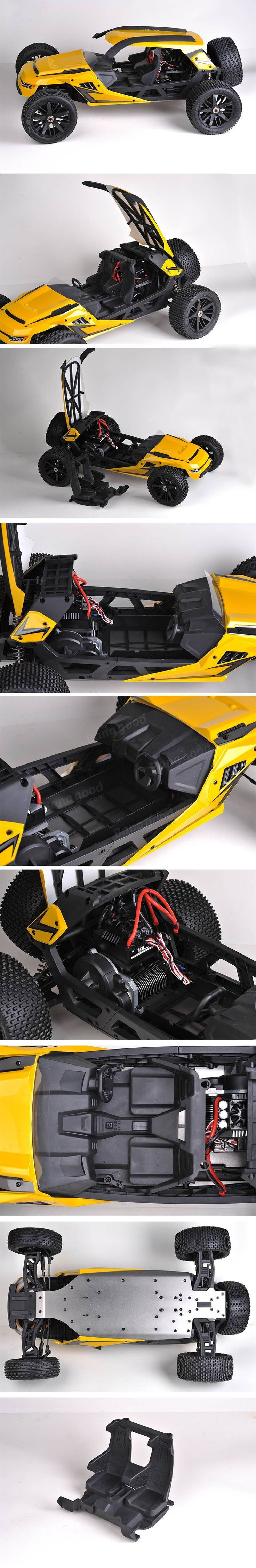 HBX T6 1/6 100+km/h RWD Proportional Brushless RC Desert Buggy RC Racing Car