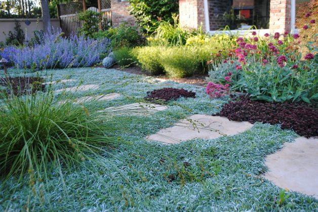 drought landscaping 5 inspiring lawn free yards - Garden Ideas To Replace Grass
