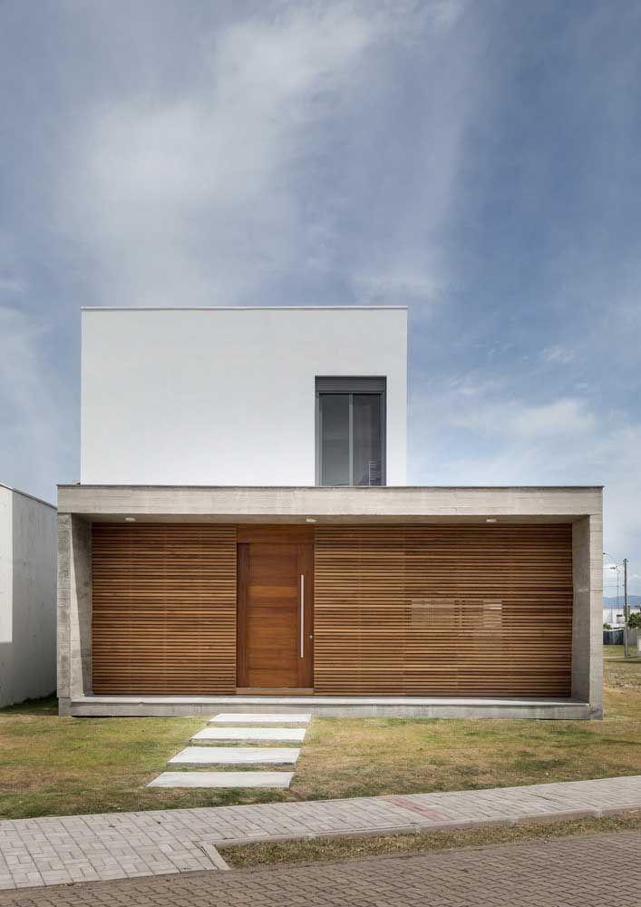 60 fachadas de casas modernas com plantas para você inspirar agora   – Architecture+Residential
