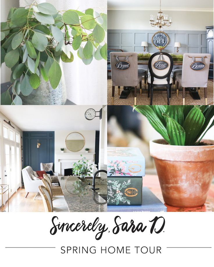 Spring home tour spring decorating and funky junk for Funky junk home decor newfoundland