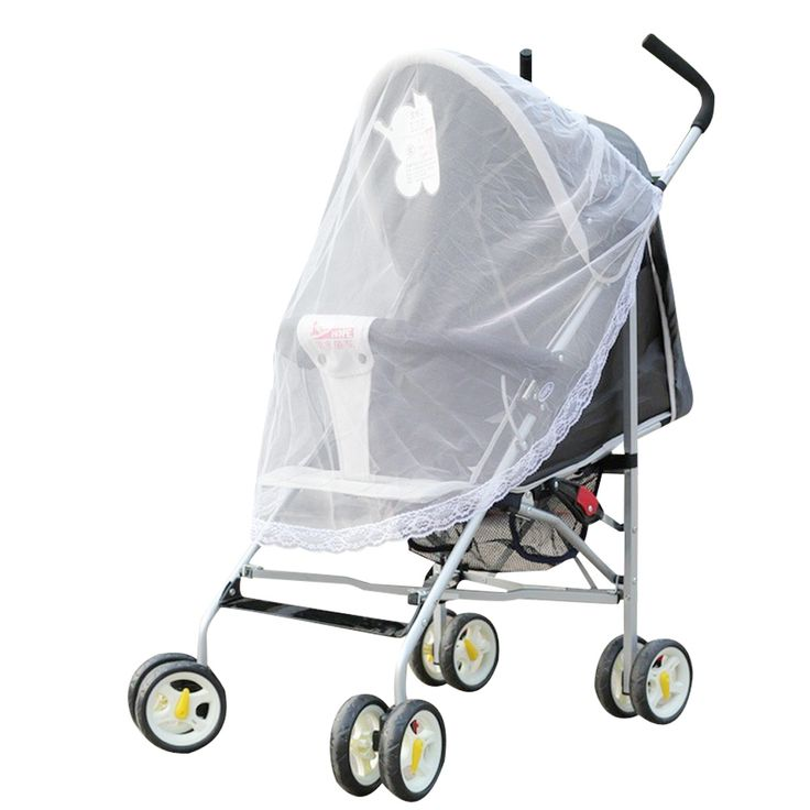 Delicate Cute Baby Stroller Pushchair Mosquito Insect Net Safe Infants Protection Mesh Stroller Accessories Mosquito Net