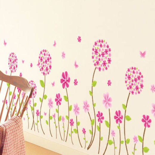 Pandora Flower Removable Art Wall Stickers Room Nursery Vinyl Decal Decor  in Baby, Nursery Décor, Wall Décor | eBay!