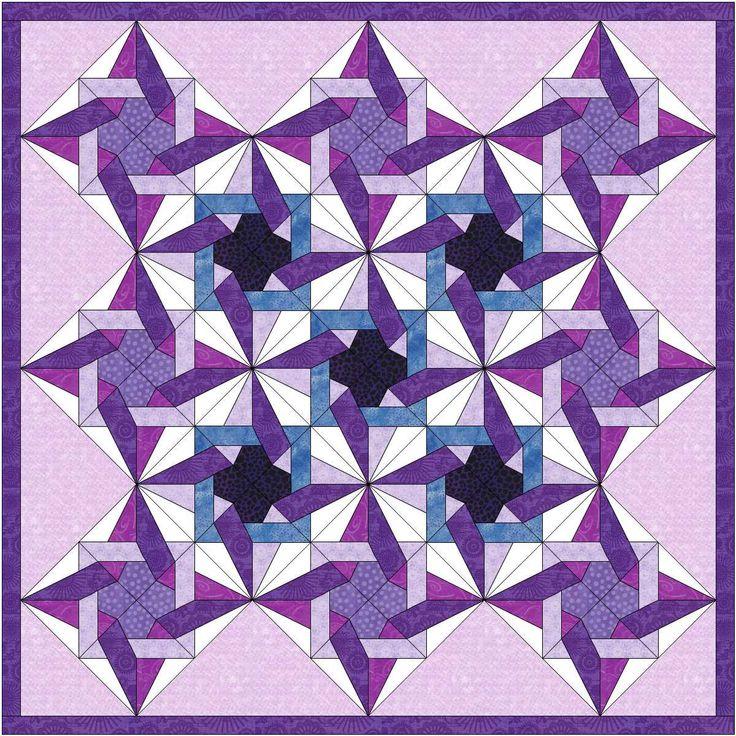 tangled star quilt 3