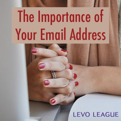 Significance of your email address