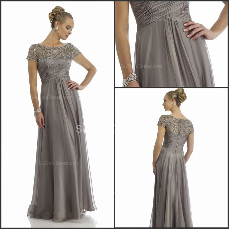 gray mother of the bride dresses - Google Search