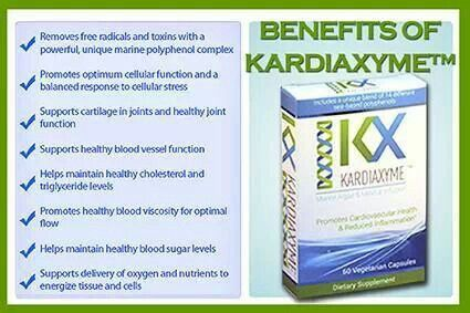Kardiaxyme all natural product!!!