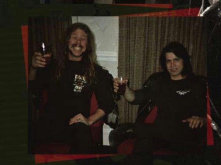 James Hetfield & Glenn Danzig.