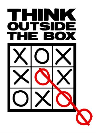 Think outside the box - think your next move.