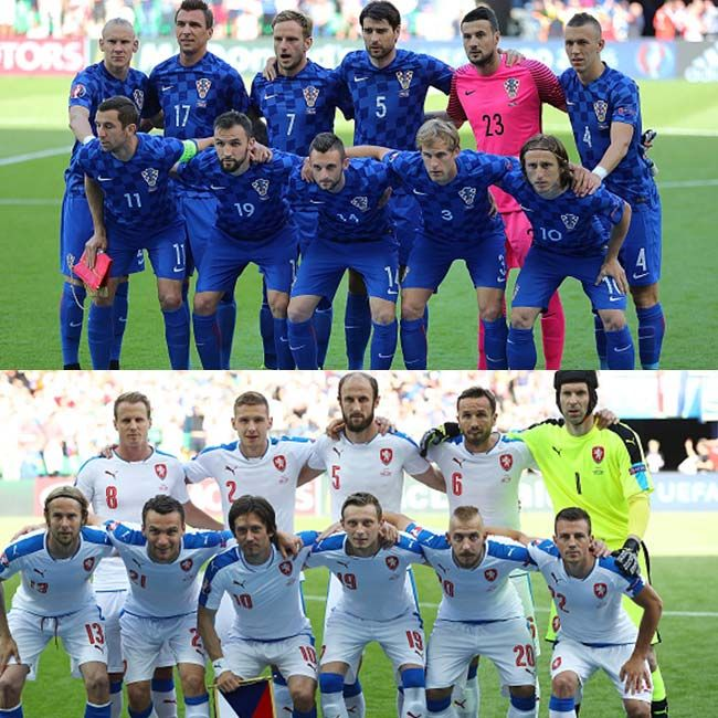 Czech Republic vs Croatia ended in a draw of 2 2 in UEFA EURO 2016 Group D match
