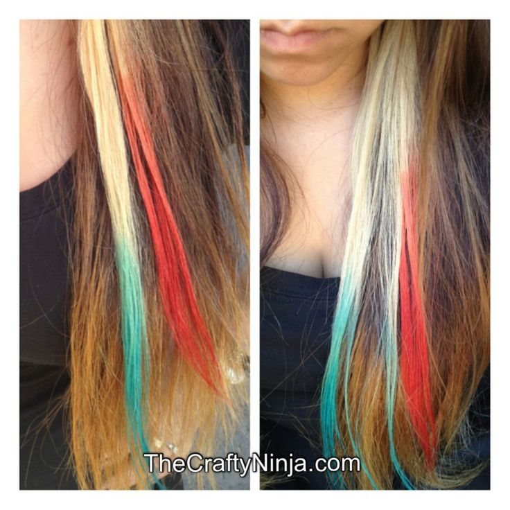 Kool Aid Nail Polish Stains: 72 Best Images About Kool Aid Hair Dye On Pinterest
