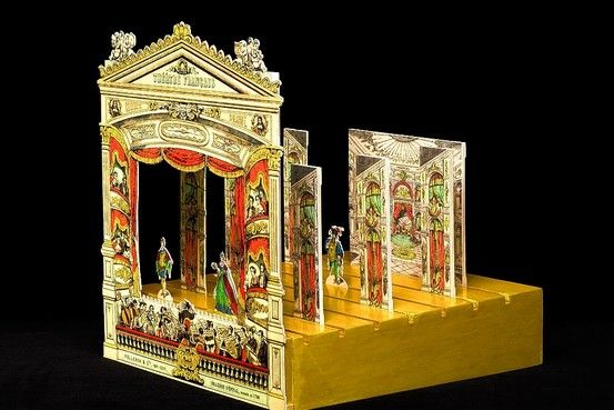 Toys of the 19th century | Toy Theatre. Image @ Tea at Triannon