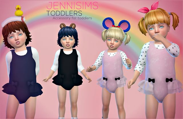 Sims 4 CC's - The Best: Accessories Sets Toddlers by Jennisims