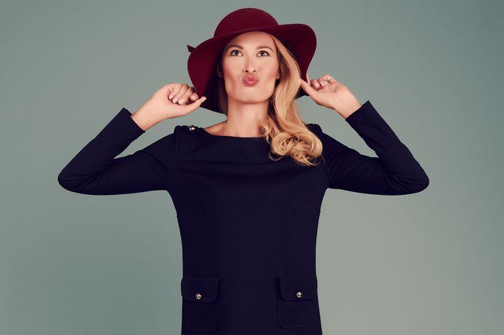 #autumn2015 #sukienka #hat #dress #izabelamuther #warsaw #fashion
