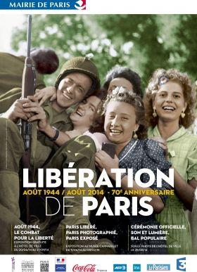 PARIS LIBÉRÉ, PARIS PHOTOGRAPHIÉ, PARIS EXPOSÉ. belle scéno ... archives touchantes