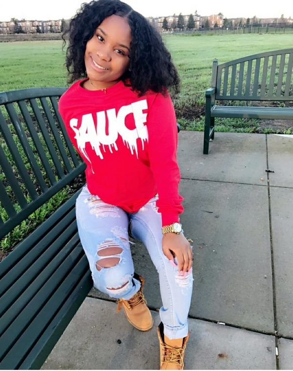 45e699929 Sauce White Red Long Sleeve Tee in 2019
