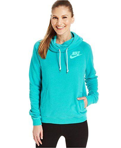 NIKE Nike Women'S Rally Funnel Pullover Hoody. #nike #cloth #