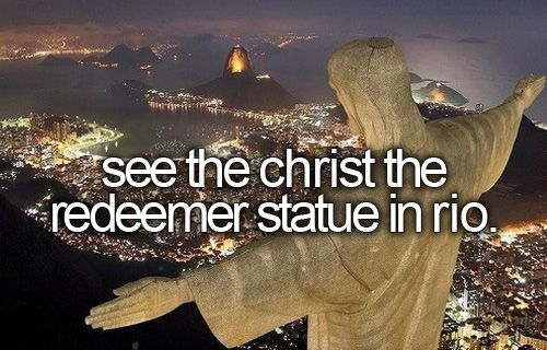 I climbed the steps and prayed at the foot of the Statue. A lifetime memory.